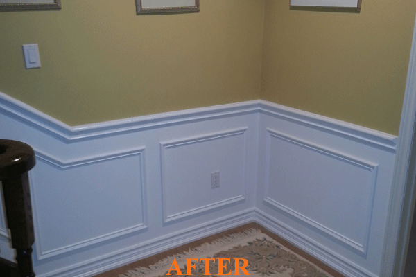 Interior Painting After Picture