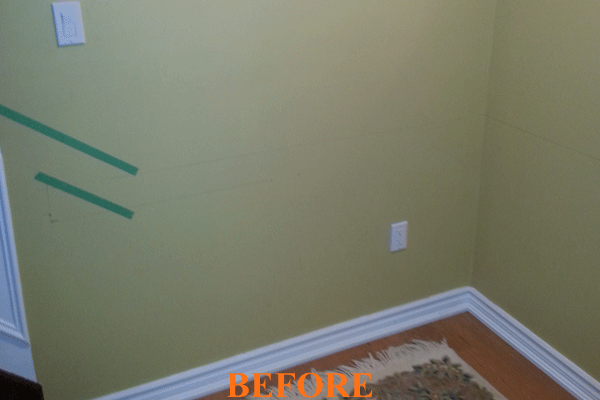 Interior painting Before Picture